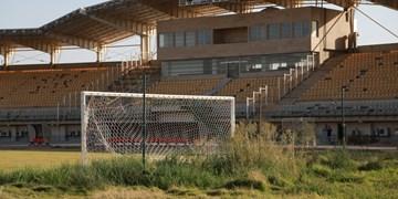 وضعیت نامناسب ورزشگاه 15 هزار نفری اروندان خرمشهر