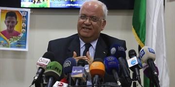 «عریقات» از تلاش برای تشکیل ائتلاف بینالمللی ضد «الحاق» خبر داد