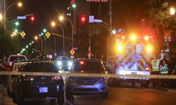فیلم   تیراندازی در جریان تظاهرات در «لوئیزویل» آمریکا 1 کشته بر جا گذاشت