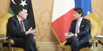 «فائز السراج» در رم با نخستوزیر ایتالیا درباره لیبی رایزنی کرد