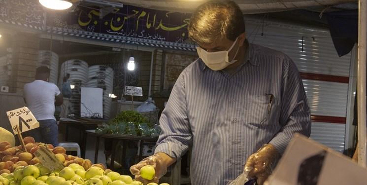عکس| بازار بزرگ رشت در دوران کرونا