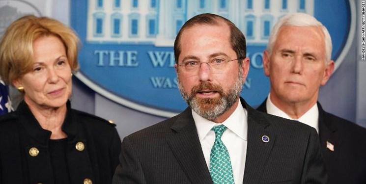 وزیر بهداشت آمریکا: زمان برای تحت کنترل درآوردن کرونا رو به پایان است