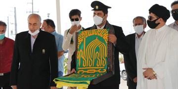 استشمام عطر حرم رضوی در پایتخت انرژی ایران+تصاویر