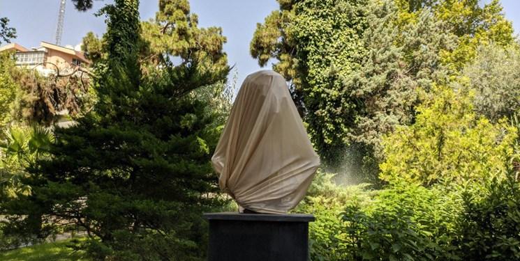 آیا این مجسمه ناپیدا متعلق به شهید سلیمانی است؟+عکس