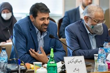 احمد نادری نماینده مردم تهران در مجلس شورای اسلامی در نشست راهبردی« جهش تولید علم و صنعت در گام دوم انقلاب»