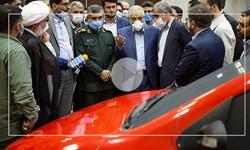 مراسم رونمایی از پلتفرم جدید خودرو ملی