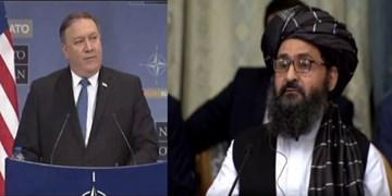 طالبان از گفتوگوی ویدئو کنفرانسی «پامپئو» با «ملابرادر» خبر داد