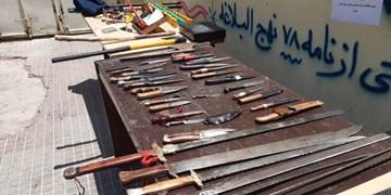 ۱۴ نفر اراذل و اوباش معروف ورامین دستگیر شدند