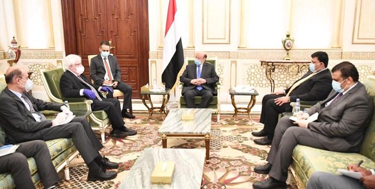 اظهارات رئیس دولت مستعفی یمن علیه ایران