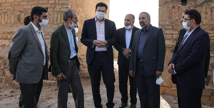 بررسی مشکلات محرومترین بخش ری از سوی نمایندگان تهران/ بازدید از آثار باستانی فراموششده تهران