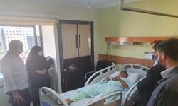 ادامه روند درمان قاسم غیزانیه در تهران