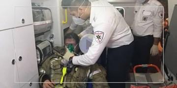 حادثه آتش سوزی در کلینیک سینا