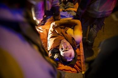 آتش سوزی و انفجار در مرکز درمانی در تجریش