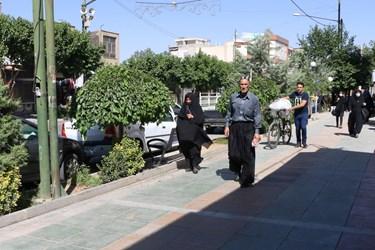 حضور سالمندان در معابر عمومی بدون استفاده از ماسک و دستکش