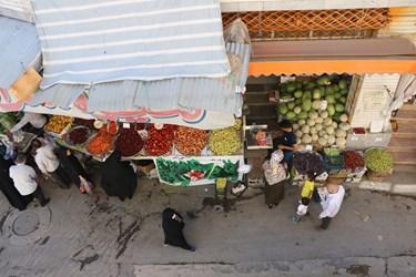 تجمع غیر ضرور برای خرید میوه