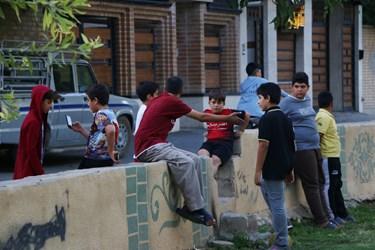 اجتماع نوجوانان شهرکردی بدون توجه به وضعیت قرمز استان