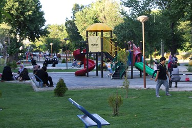 پارکهایی که رنگ و بویی از محدودیت ندارند
