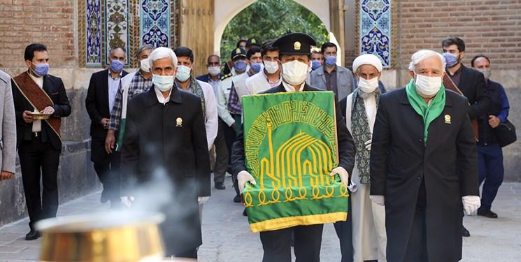 کاروان«زیر سایه خورشید» در بقعه شیخ صفی الدین اردبیلی