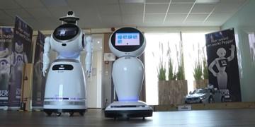 رباتهایی که با کرونا مبارزه میکنند