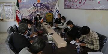 فیلم/حضور کاروان «زیر سایه خورشید» در دفتر خبرگزاری فارس کردستان