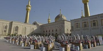 هزار جهیزیه از کنار حرم امام(ره) راهی خانه نوعروسان شد