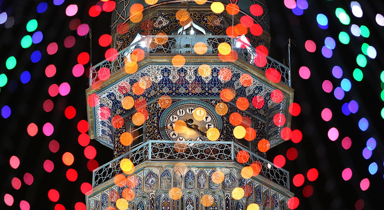 13990412000603 Test NewPhotoFree - گلآرایی و چراغانی حرم امام رضا (ع) با دهها هزار گل و چراغ+عکس