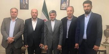 رایزنی هیأت حماس با سفیر ایران در لبنان؛ تأکید بر رد «الحاق»