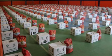 توزیع بیش از ۵۰۰ بسته معیشتی رزمایش مواسات و کمک مؤمنانه در پردیس