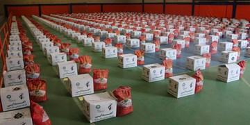 مددجویان بهزیستی خراسان شمالی ۳۱۰۰ بسته معیشتی دریافت کردند