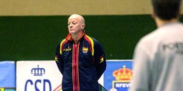 سرمربی تیم ملی والیبال اسپانیا انتخاب شد
