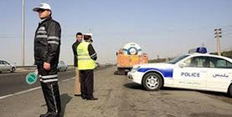 اعمال محدودیتهای ترافیکی در شهر ایلام به منظور مقابله با کرونا