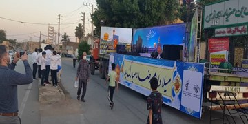 حال و هوای امام رضایی در خیابانهای اهواز