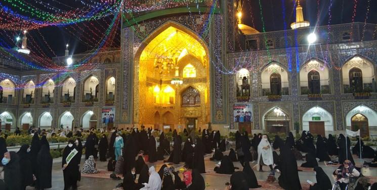 جشنی متفاوت در بهشت خراسان باطعم کرونا/ اشک شوق داریوش ارجمند برای خادمی آستان+عکس و فیلم