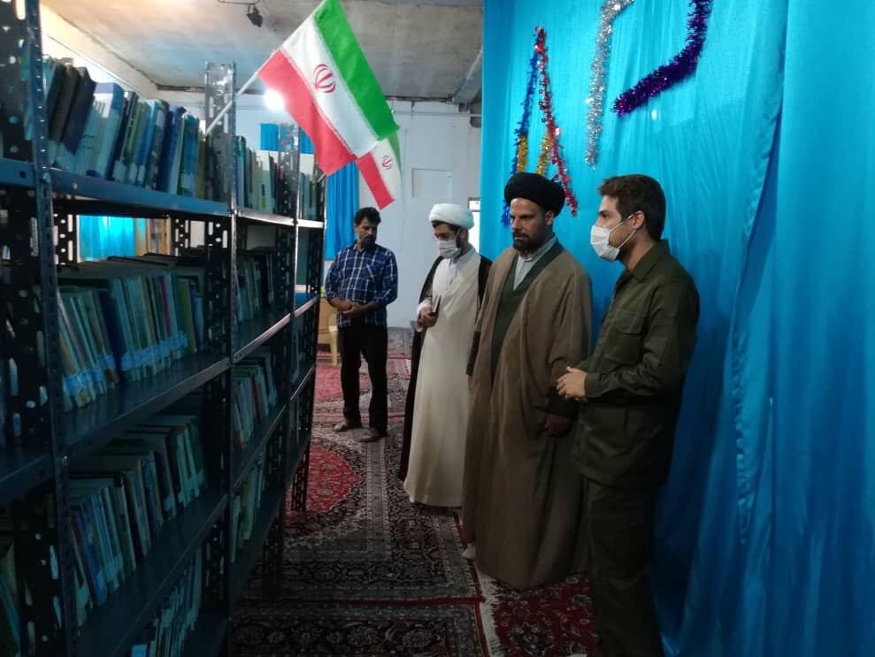 13990413000106 Test NewPhotoFree - افتتاح کتابخانه «شهید ابراهیم هادی» توسط گروه جهادی شهدا + فیلم