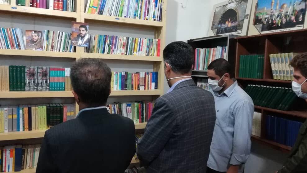 13990413000107 Test NewPhotoFree - افتتاح کتابخانه «شهید ابراهیم هادی» توسط گروه جهادی شهدا + فیلم