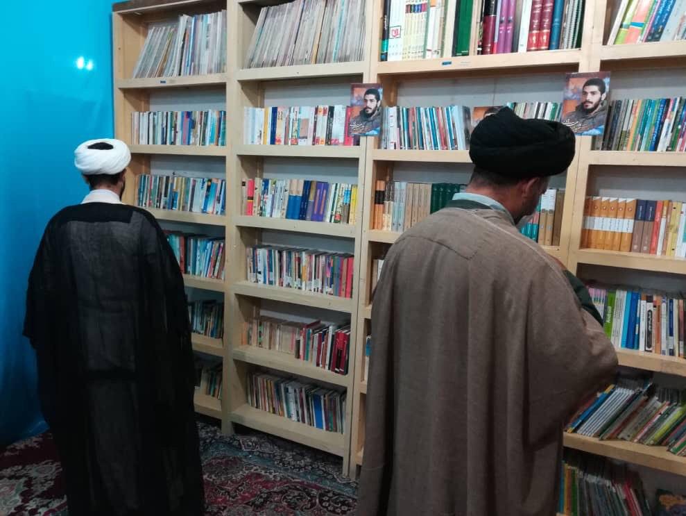 13990413000108 Test NewPhotoFree - افتتاح کتابخانه «شهید ابراهیم هادی» توسط گروه جهادی شهدا + فیلم