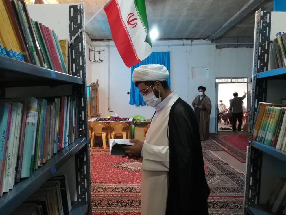 13990413000109 Test NewPhotoFree - افتتاح کتابخانه «شهید ابراهیم هادی» توسط گروه جهادی شهدا + فیلم