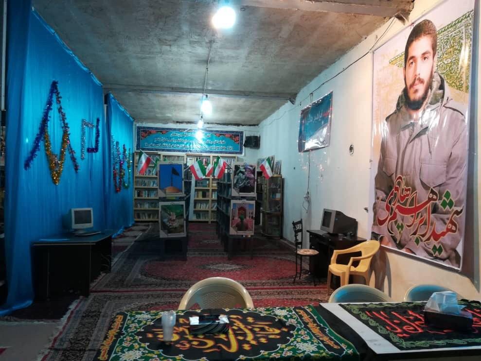 13990413000110 Test NewPhotoFree - افتتاح کتابخانه «شهید ابراهیم هادی» توسط گروه جهادی شهدا + فیلم