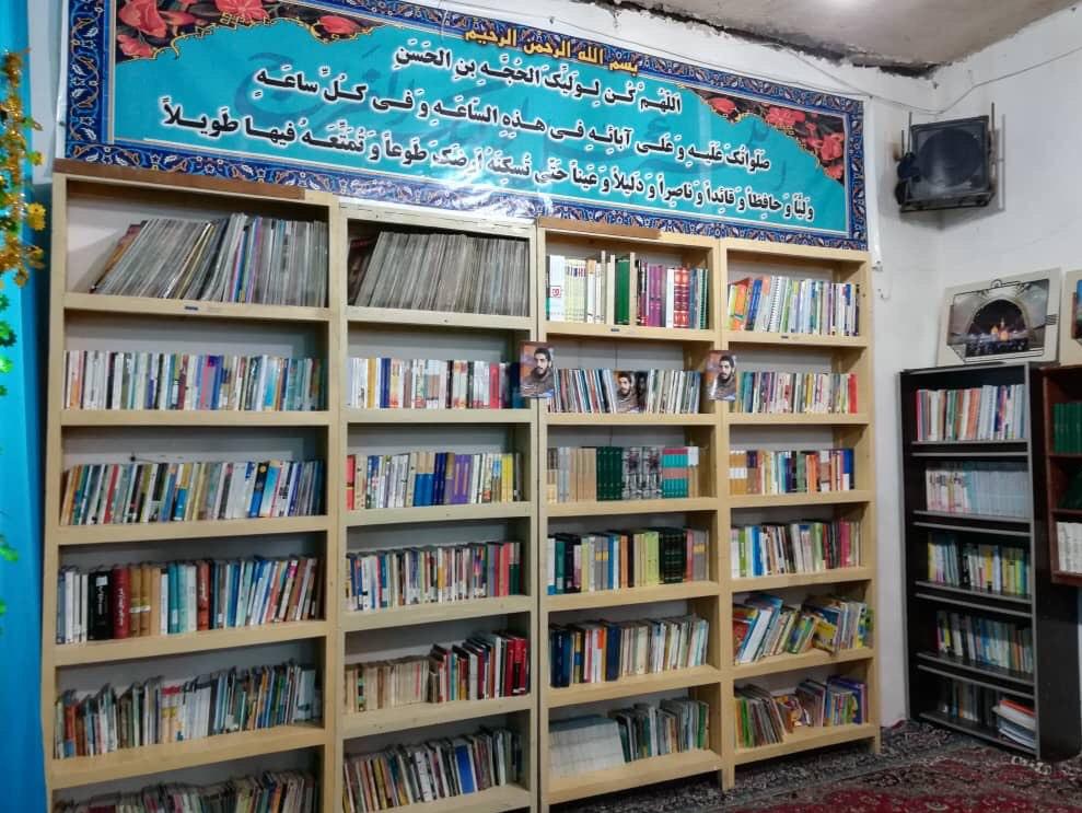 13990413000111 Test NewPhotoFree - افتتاح کتابخانه «شهید ابراهیم هادی» توسط گروه جهادی شهدا + فیلم