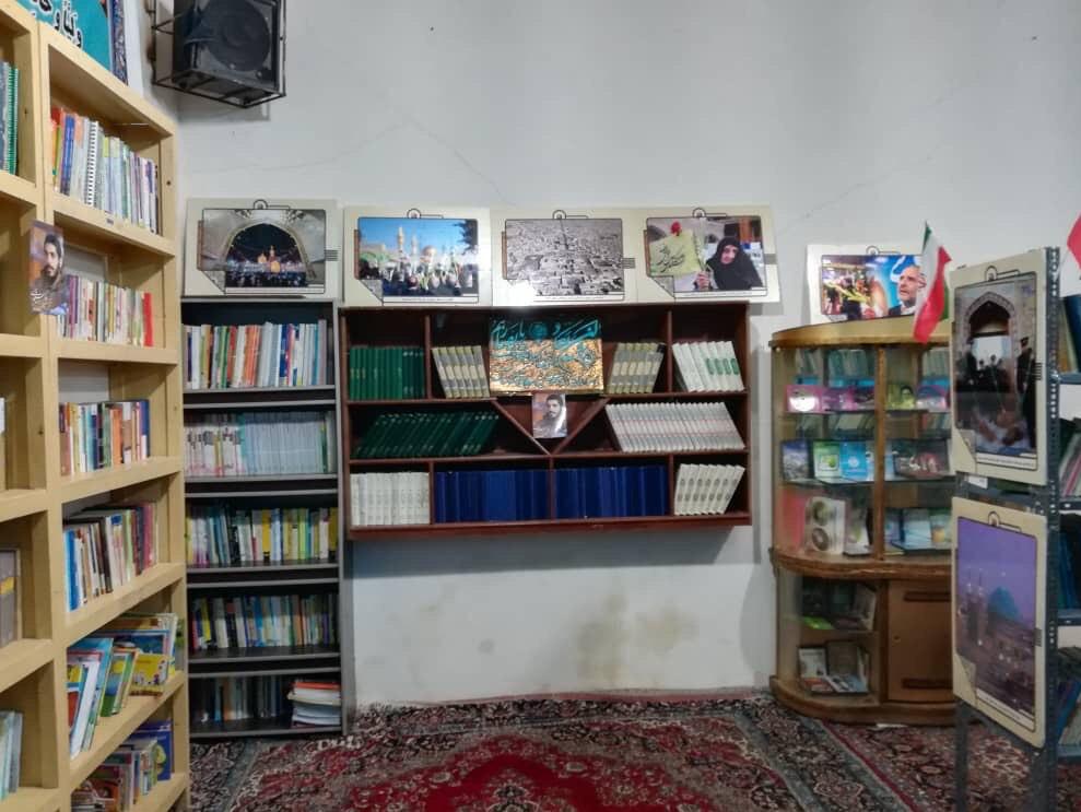 13990413000112 Test NewPhotoFree - افتتاح کتابخانه «شهید ابراهیم هادی» توسط گروه جهادی شهدا + فیلم
