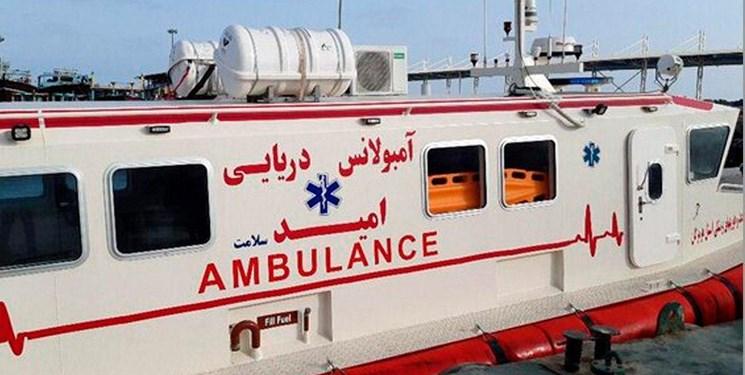 راهاندازی آمبولانس دریایی هرمز