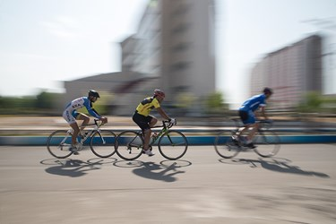 عکس مسابقات لیگ دوچرخه سواری گیلان در منطقه آزاد انزلی