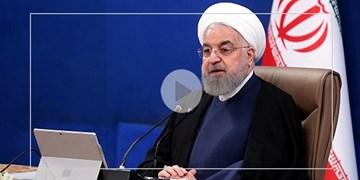 روحانی: ارائه خدمات منوط به رعایت مسائل بهداشتی باشد/ درج غیبت برای کارمند بدون ماسک