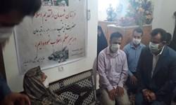 سفارش مادر شهید مدافع حرم به نماینده دولت در مازندران