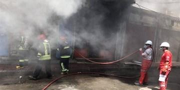 مهار آتشسوزی در هتل کارون دلیجان/ حریق تلفات جانی نداشت