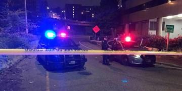 فیلم| یک خودرو دو نفر را در تجمع ضد نژادپرستی شهر «سیاتل» زیر گرفت