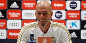 هازارد و واران غایبهای رئال مادرید/زیدان: بازیکنانم خواهان قهرمانی لالیگا هستند