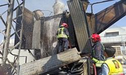 آتشسوزی نیروگاه زرگان تلفاتی نداشت/ مهار آتش قبل از سرایت به سایر قسمتها
