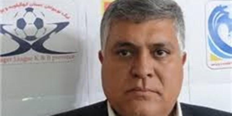 دبیر هیات فوتبال کهگیلویه و بویراحمد استعفا داد/استقامت افشاریان در برابر حل مشکلات