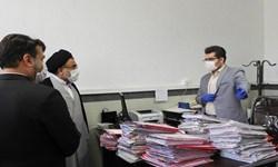 بازدید رئیس دادگستری استان مرکزی از محاکم قضائی ساوه